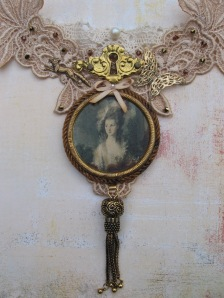 18th Century Portrait choker
